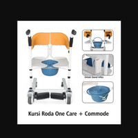 ONEMED KURSI RODA + COMMODE ONECARE / ONE CARE