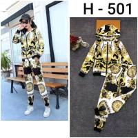 Setelan Premium H - 501 / Versace / Import / Hoodie