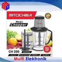 Food Chopper Mitochiba CH-200 CH 200 / CH200 Garansi Resmi BUKAN CH100