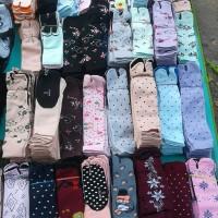 kaus kaki jempol wanita muslimah motif dan polos