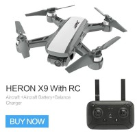JJRC X9 Wi-Fi Heron Drone Brushless Gimbal GPS RC Quadcopter