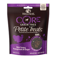Wellness Petite Treats Soft Turkey Snack Anjing Dog