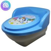 Pispot Anak - Potty Training - Toilet Seat Green Leaf Villeroy Closet