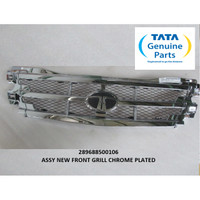 TATA MOTORS XENON RX ASSY NEW FRONT GRILL CHROME PLATED 289688500106