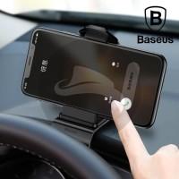 BASEUS MOUTH CAR MOUNT PHONE HOLDER SPEEDOMETER DUDUKAN STAND HP