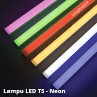 Lampu LED Tube Neon - Merah - Biru - Hijau - Kuning - Ungu- Putih