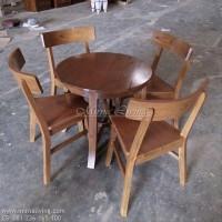 Meja kursi Makan kayu jati T D269