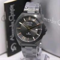 Jam Tangan Pria Alexandre Christie 8596 Black JP7