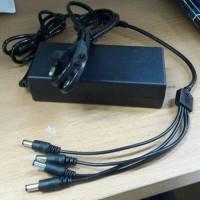 Adaptor 12V 5A + Kabel CUMI untuk cctv