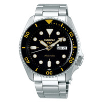 Seiko 5 Sports SRPD57K1 Automatic Black Dial Stainless Steel