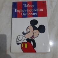 DISNEY ENGLISH-INDONESIAN DICTIONARY
