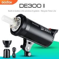 Lampu Studio Godox DE300 II NEW DE300II STROBE WIRELLES 300WS 220Volt