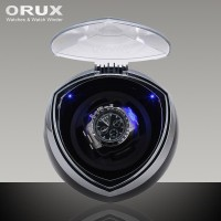 ORUX Black Single Watch Winder for automatic watches / Pemutar Jam