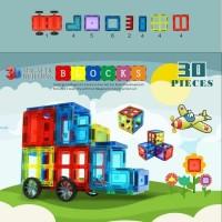Magnetic block 3D/Mainan Edukasi Anak/Magnetic Puzzle