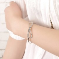 Bow Shape Bracelets 03228Cr