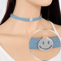 Choker Smiling Face Shape 024E44r