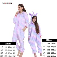 PROMO Boys Girls Kigurumi Pajama Sets Panda Unicorn Pajamas For