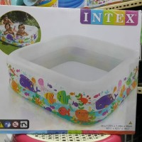 intex kolam swim aquarium pool 57471 setara bestway inflatable intime
