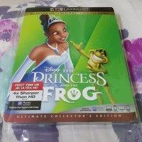 The Princess and the frog 4k uhd bluray