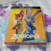 Zootapia 4k uhd bluray