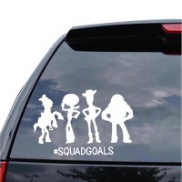 Sticker Decal Mobil Cutting Vinyl Reflektif Toy Story Squad Goals