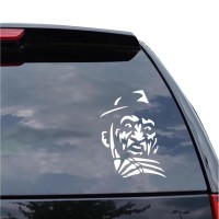 Sticker Decal Mobil Cutting Vinyl Reflektif Horor Freddy Krueger