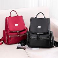 Tas Ransel Wanita / Backpack Cewek Impor Korea Ori Terbaru Z2053