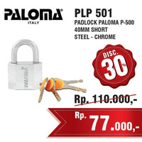 Gembok Paloma PLP 501 P-500 40MM SHORT