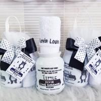 Souvenir Mug Susu & Handuk/Souvenir Ultah/Milkymug Custom/Hampers Baby