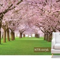 Jual Jual Wallpaper 3d Custome Motip Pemandangan Bunga Sakura Pink Jakarta Utara Nafisamart Tokopedia