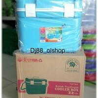 Cooler Box 22 liter / Termos Es/Kotak Es/Marina Cooler Box Greenleaf