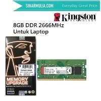 Memory Ram Kingston 8GB DDR4 2666 MHz SODIMM KVR26S19S8/8