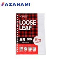 LOOSE LEAF A5 ISI 100 KERTAS FILE BINDER BIG BOSS A5 100 LEMBAR
