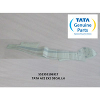 TATA MOTORS ACE EX2 DECAL LH (KIRI) 552355106317