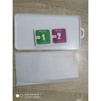 tempered glass + packing + tissue murah