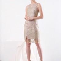 Preloved Simple Dress gold