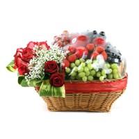 Parcel Buah Bunga Parsel Buah Segar Paket Parcel Buah Keranjang PB28