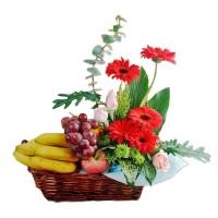 Parcel Buah Bunga Parsel Buah Segar Paket Parcel Buah Keranjang PB8