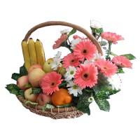Parcel Buah Bunga Parsel Buah Segar Paket Parcel Buah Keranjang PB3