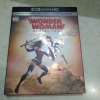 Wonder Woman Bloodlines 4k bluray
