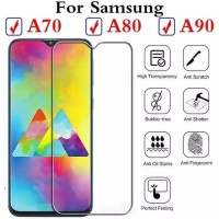 Tempered glass For Samsung Galaxy A90 anti gores kaca screen guard