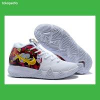 Sepatu Basket Nike Kyrie Irving 4 White Multi Premium BNIB men Shoes