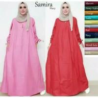Baju Atasan Wanita muslim samira Maxy Jumbo tunik Longdress Blouse