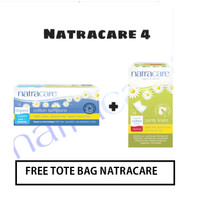 Natracare 4 - Aplikator Tampon Super + Panty Liners Normal