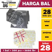GK57 [BAL isi 200 bks] Uk. 28 x 48 x - Putih Merk Bola Lampu