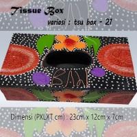Kotak Tisu Tissue Box Ethnic 21 Bali Bisa Buat Hiasan Meja