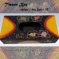 Kotak Tisu Tissue Box Ethnic 18 Bali Bisa Buat Hiasan Meja