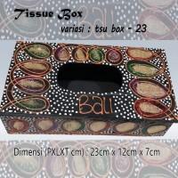 Kotak Tisu Tissue Box Ethnic 23 Bali Bisa Buat Hiasan Meja