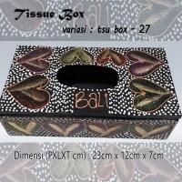 Kotak Tisu Tissue Box Ethnic 27 Bali Bisa Buat Hiasan Meja