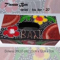 Kotak Tisu Tissue Box Ethnic 20 Bali Bisa Buat Hiasan Meja